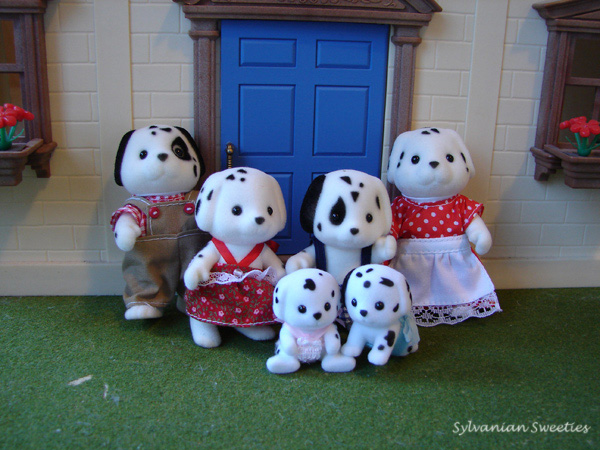 Calico Critters Dalmation Family
