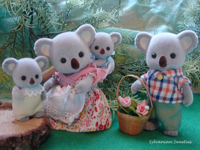 CC Outback Koala Family - 1st edition