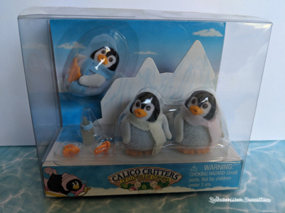 Calico Critters Penguin Triplets