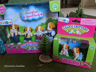 Calico Critters Sunnybrook Spaniel Family. Toys R Us exclusive