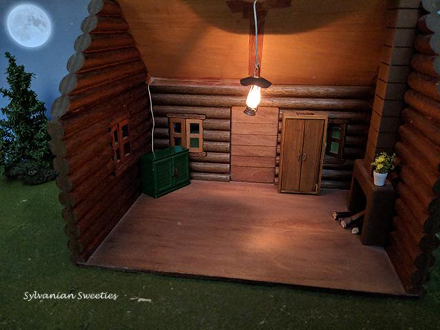 JP Memory Time Cabin At Night
