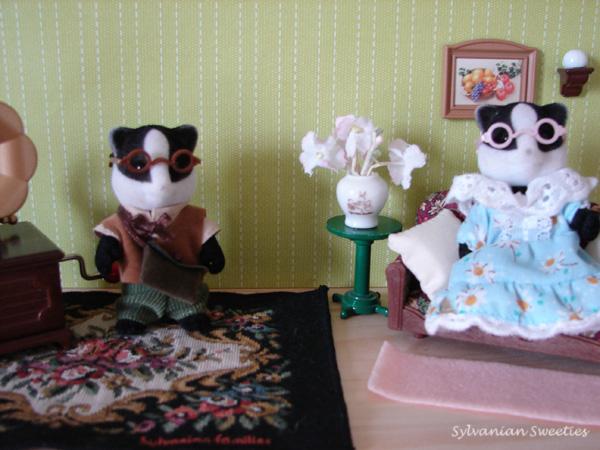 UK Underwood Badger Grandparents