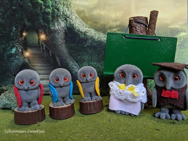 UK Flair Treefellow Owls. 2005 version