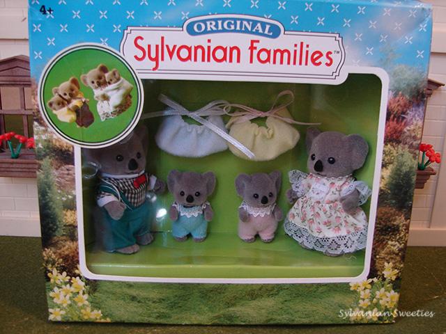 UK Flair Billabong Koala Family