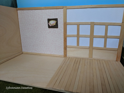 Custom Japanese Room. I made this for my SF Japanese Room Set