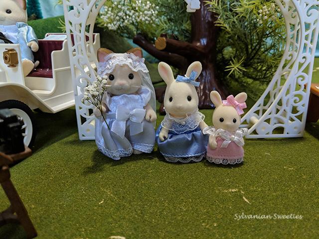 Mimi and Melody Snowbunny Bridesmaids
