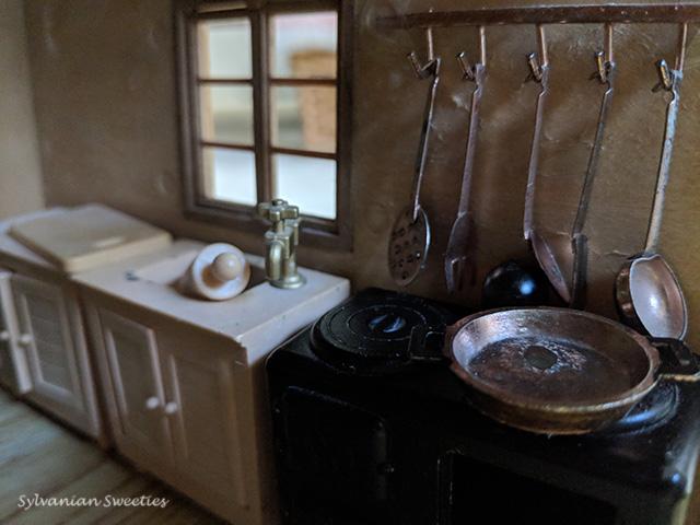Sylvanian Families JP copper utensils