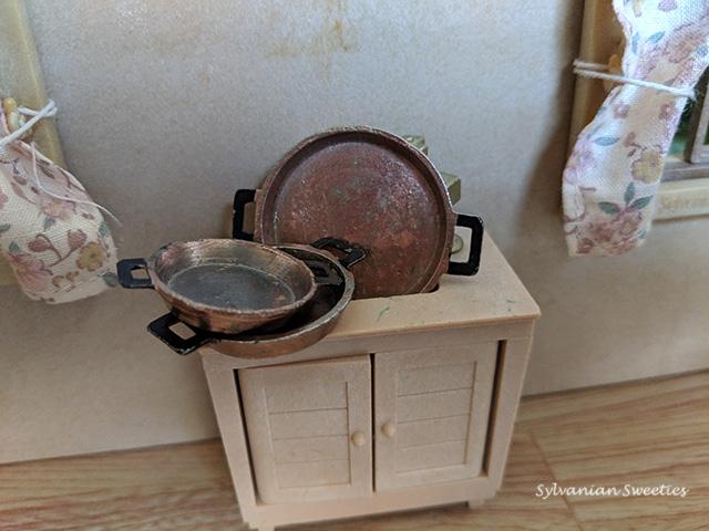 JP Miniature Copper Pan Set SE-55 Some of my favorite kitchen items!