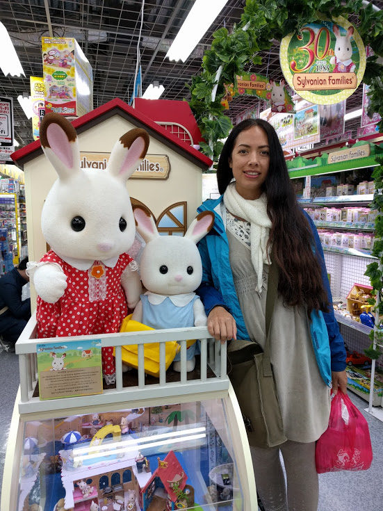 Visit to Japan to get Sylvanian Families at Yodabashi Camera