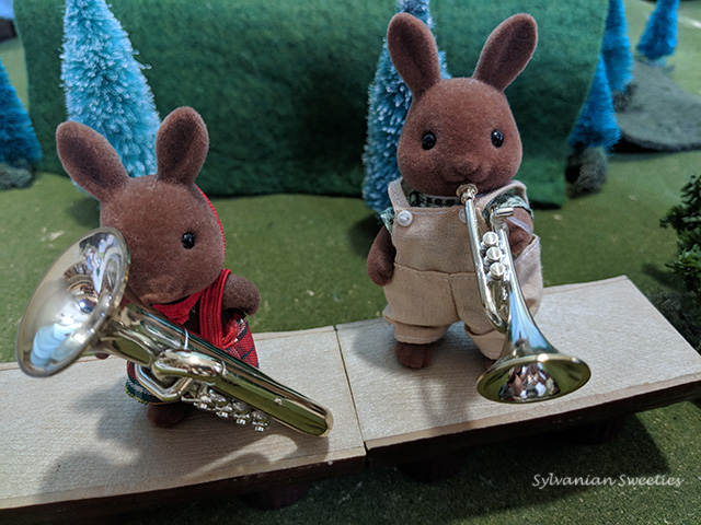 Sylvanian Instruments - Trumpet and Tuba