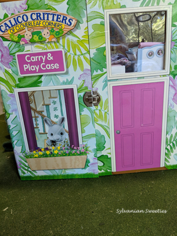 Calico Critters Carry and Play Case